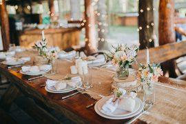 Decoração de casamento no campo melhores e mais pinadas nos EUA