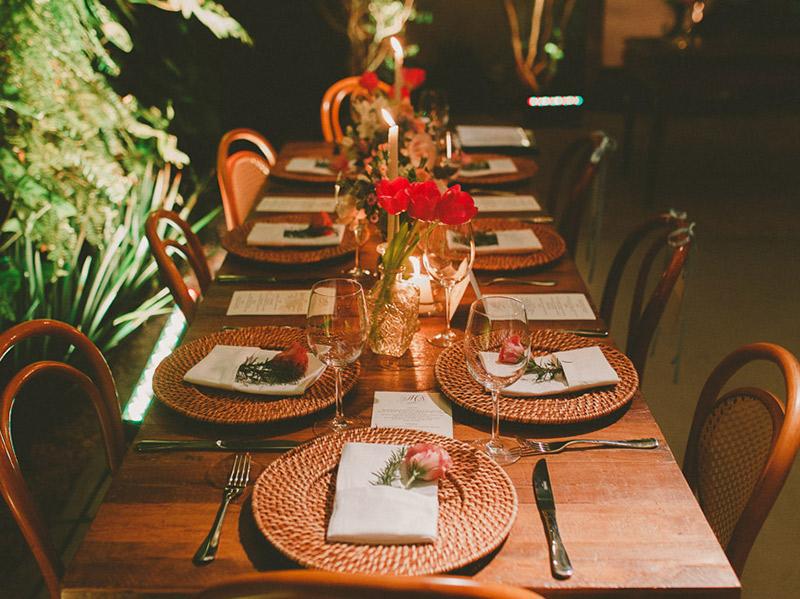 Como fazer um mini wedding em um restaurante manioca