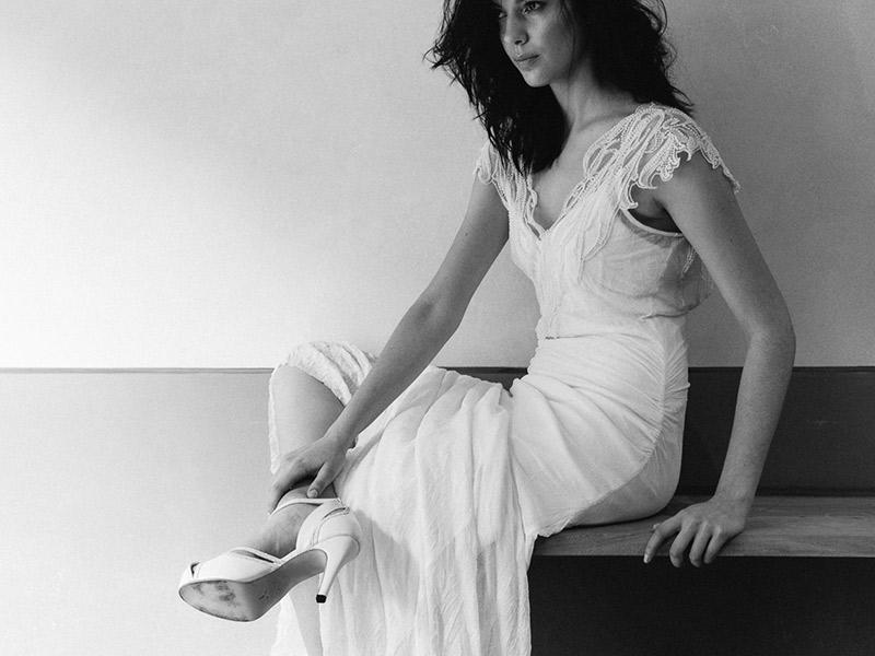 Vestido de noiva Como usar slip dress emannuelle junqueira
