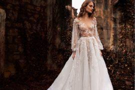 vestido de noiva coleção outono inverno 2017 Paolo Sebastian
