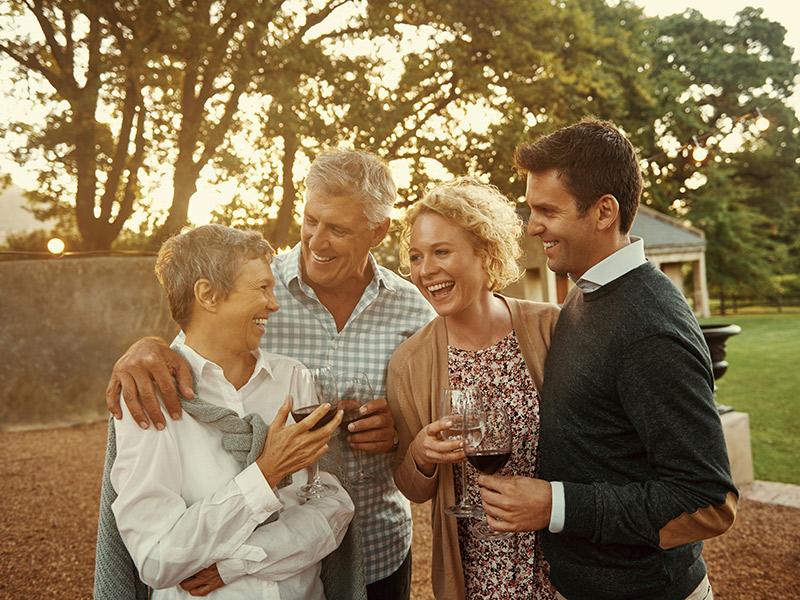 Como fazer a lista de convidados família
