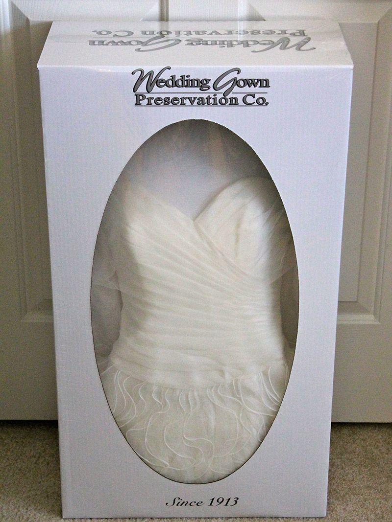 Como guardar o vestido de noiva na caixa