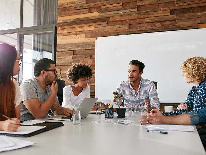 Convidados como fazer com colegas de trabalho