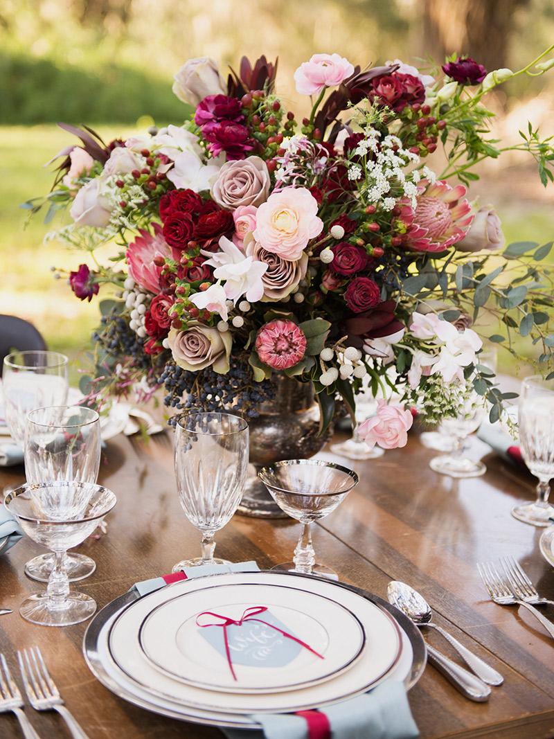 Decoração Flores no casamento para a cidade, campo e praia