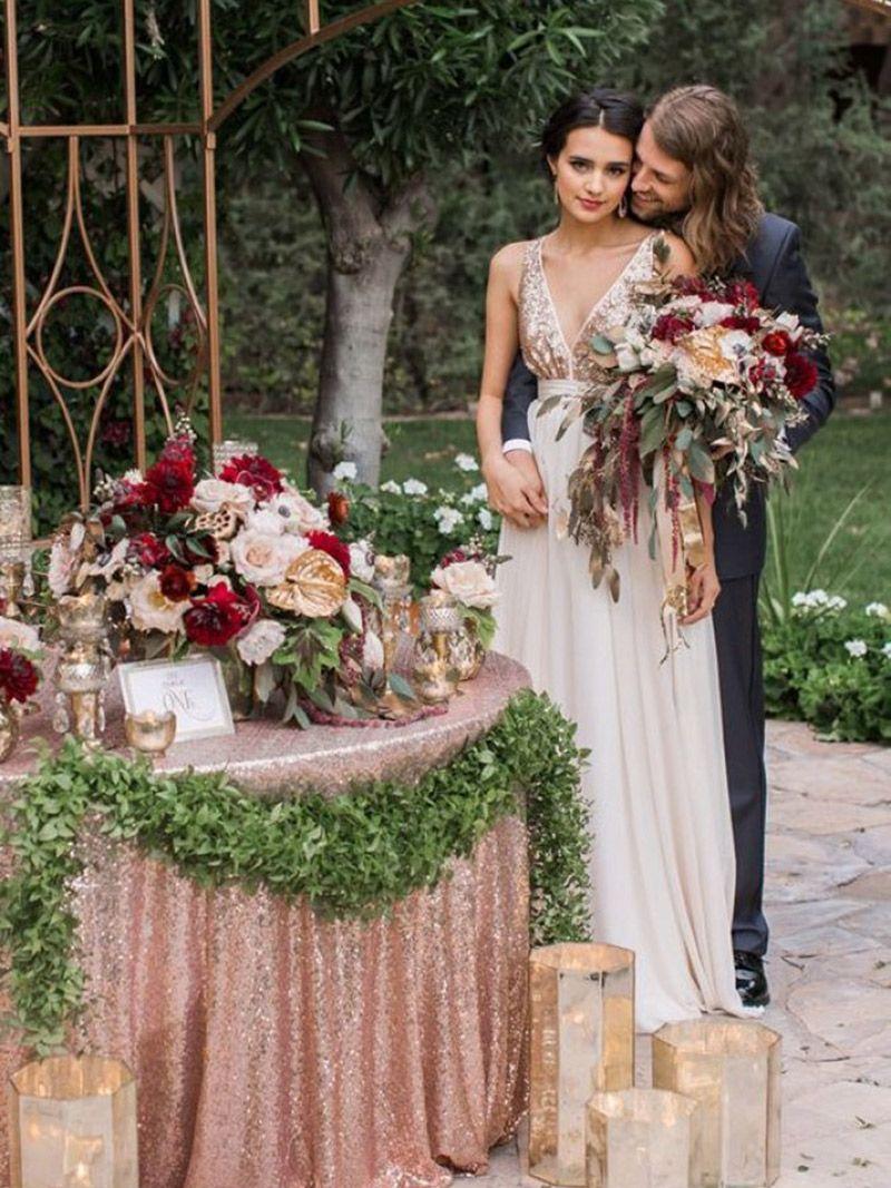 Decoração de casamento Flores da primavera para a cidade, campo e praia