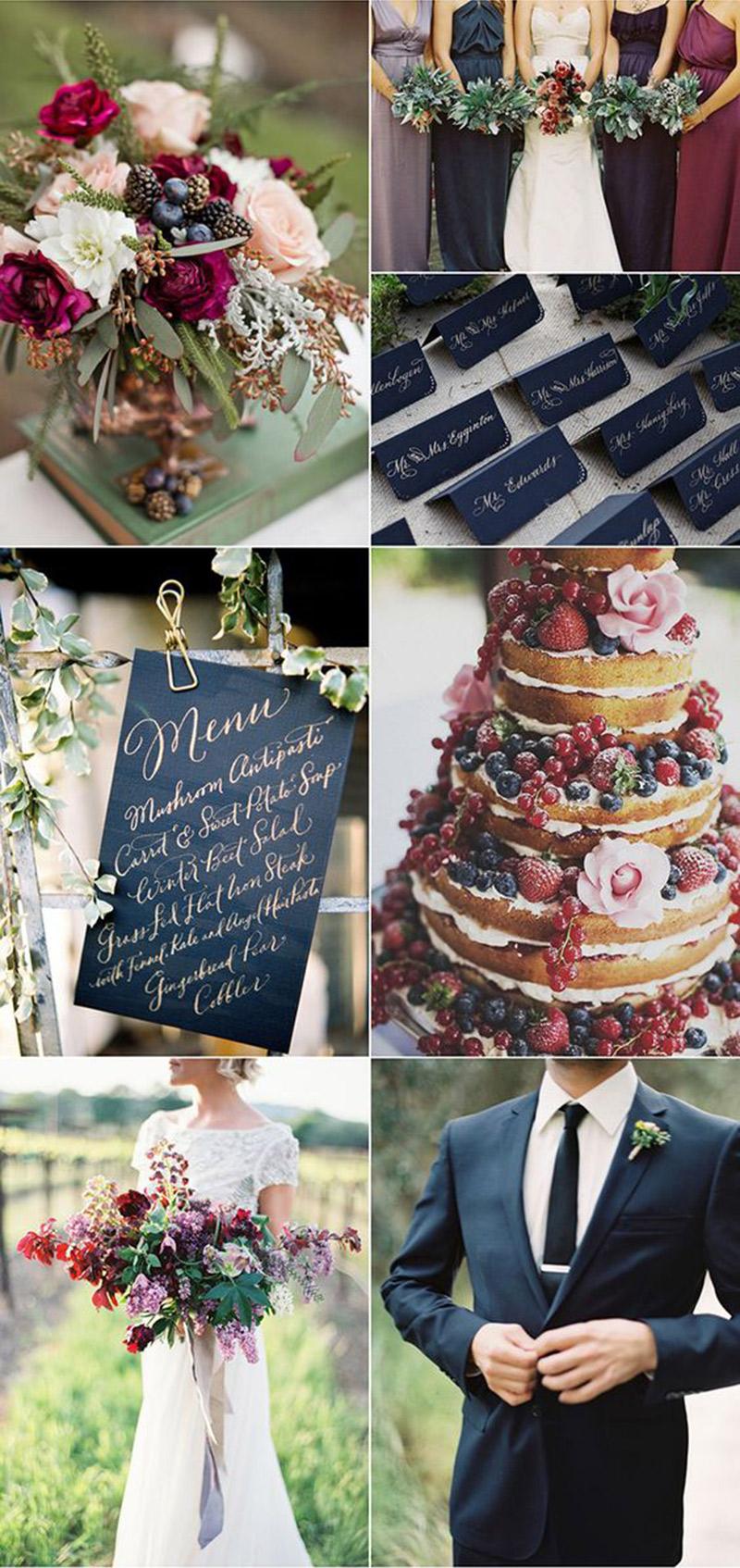 Decoração de casamento O significado das cores