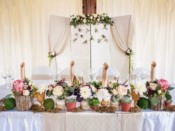 Decoração de casamento mais pinada da Itália