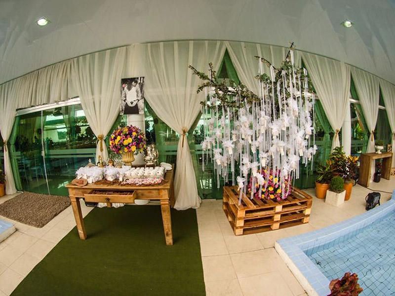 Espaços para casamento no Amazonas Village