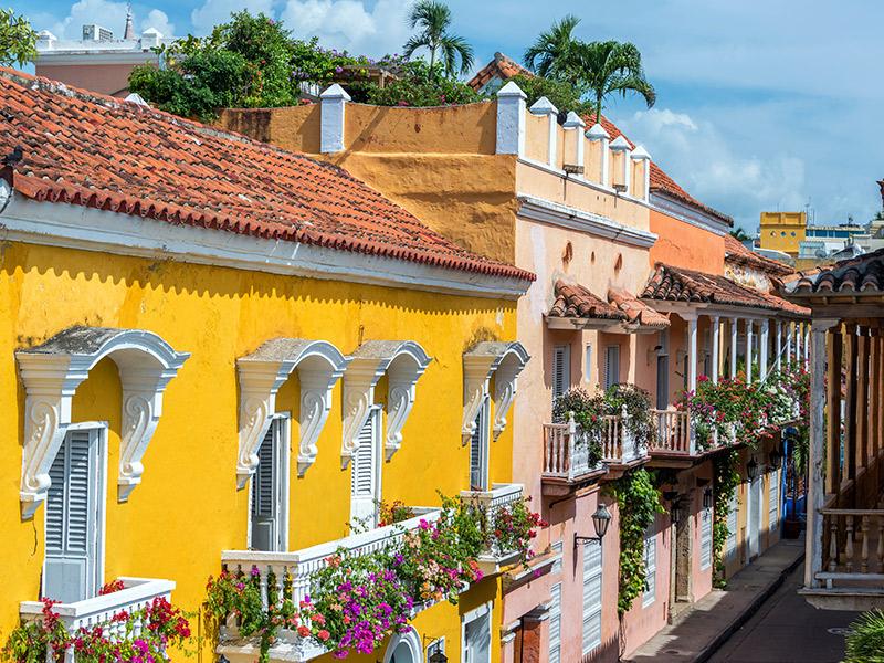 Lua de mel na primavera Cartagena das Indias