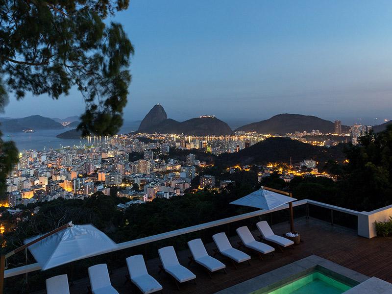 Melhores hotéis no Rio de Janeiro hotel santa teresa