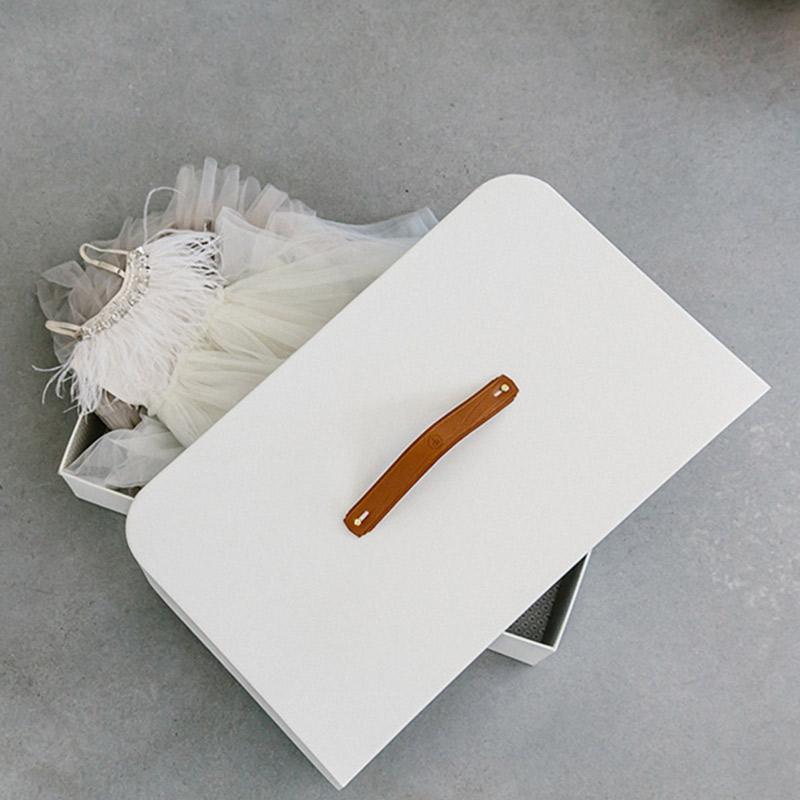 Vestido de noiva Como guardar em uma caixa