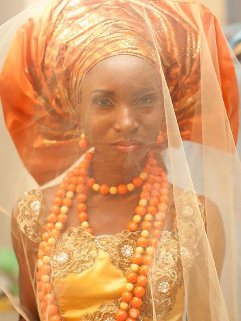 Vestido de noiva Trajes de casamento ao redor do mundo Nigéria