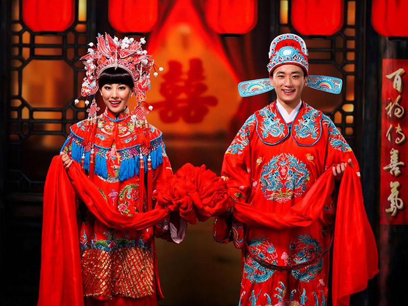 Vestido de noiva Trajes de casamento ao redor do mundo china