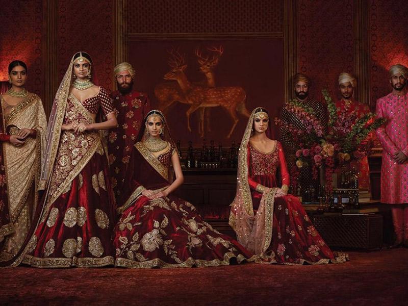 Vestido de noiva Trajes de casamento ao redor do mundo India
