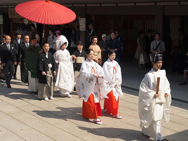 Vestido de noiva Trajes de casamento ao redor do mundo Japão