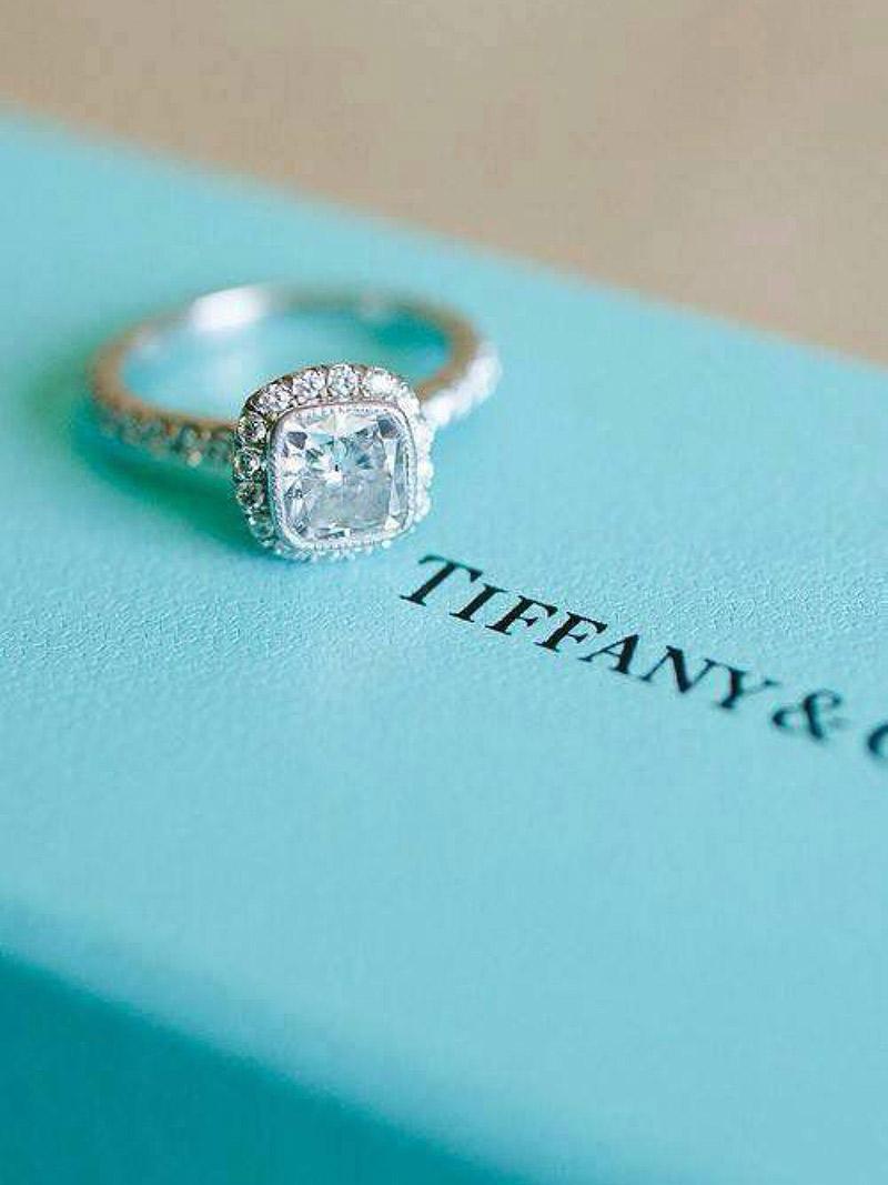 Anel de noivado Aprenda tudo sobre as gemas da Tiffany