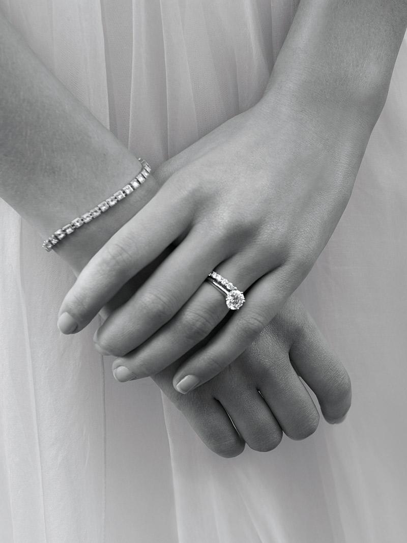 Anel de noivado Aprenda tudo sobre as gemas da Tiffany presença
