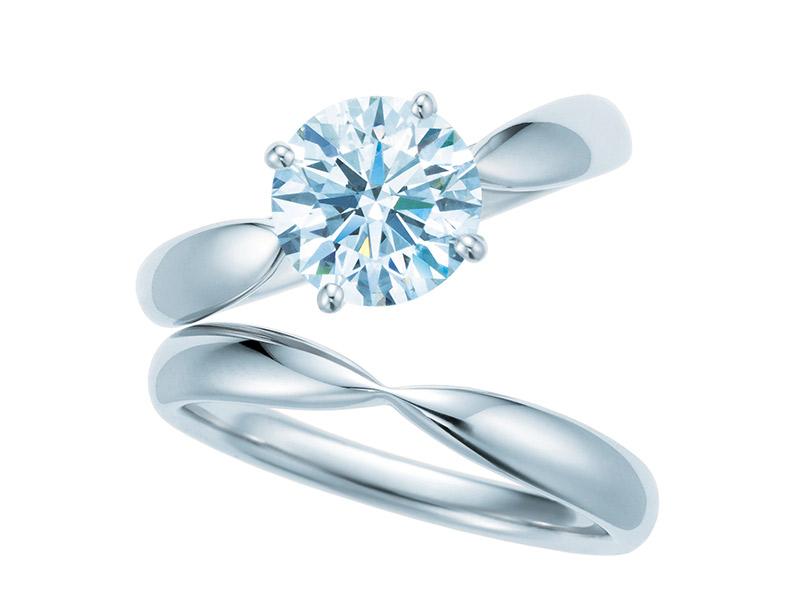 Anel de noivado Tiffany harmony