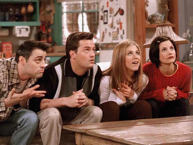 Séries que tem casamento que você deve assistir Friends