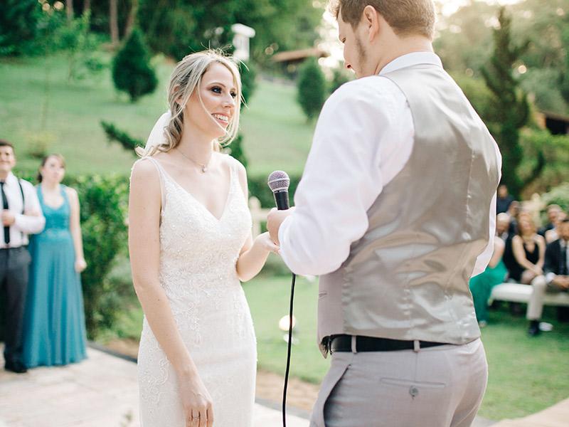 Como fazer os votos do casamento discurso