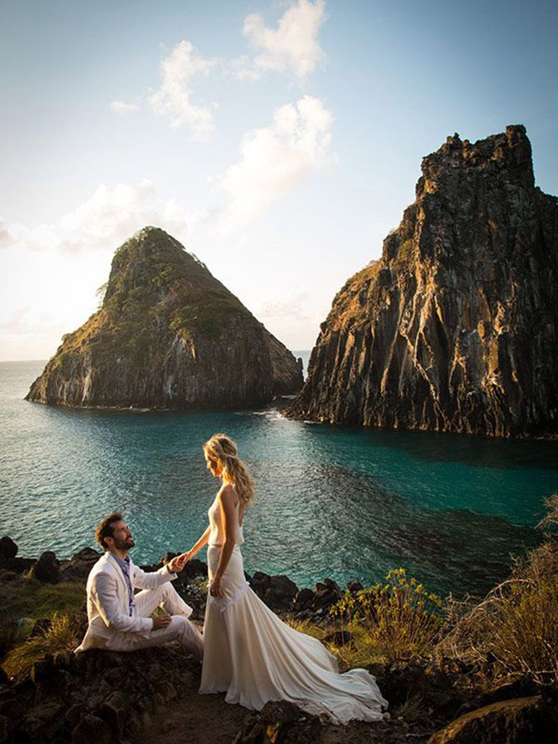 Destination wedding x elopement Fernando de Noronha