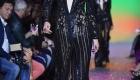 Fashion Weeks tendências 2017 noiva e madrinhas geométricos