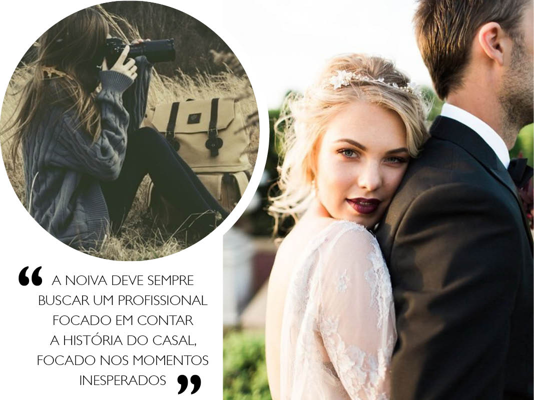 Fotógrafo de casamento como escolher