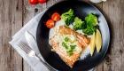 Ilha gastronômica Kosher salmão
