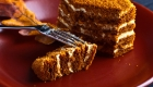 Ilha gastronômica Kosher bolo de mel