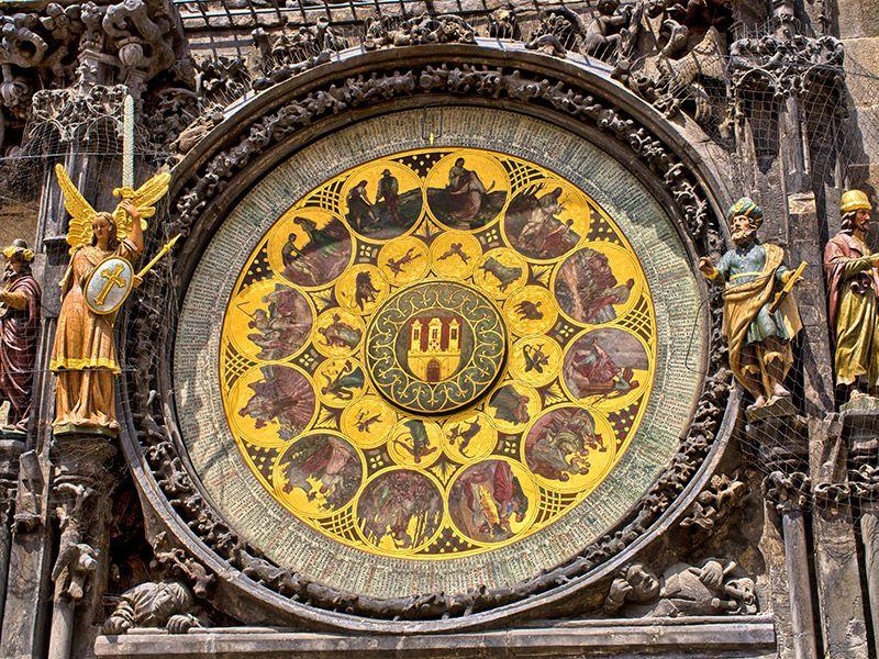 Lua de mel no outono Praga