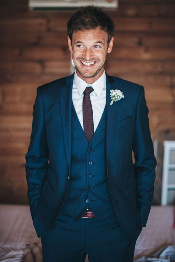 Traje do noivo regras atualizadas gravata