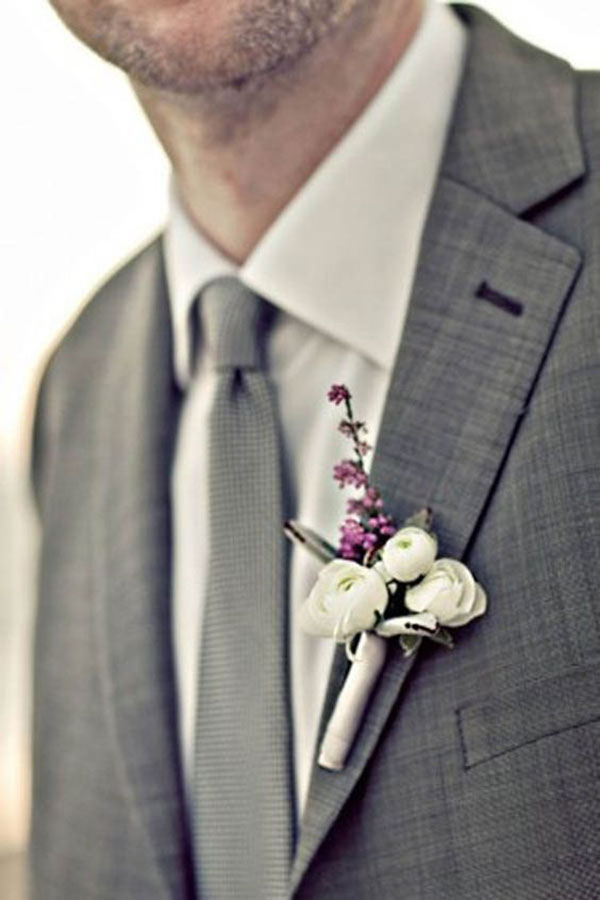 Traje do noivo regras atualizadas lapela