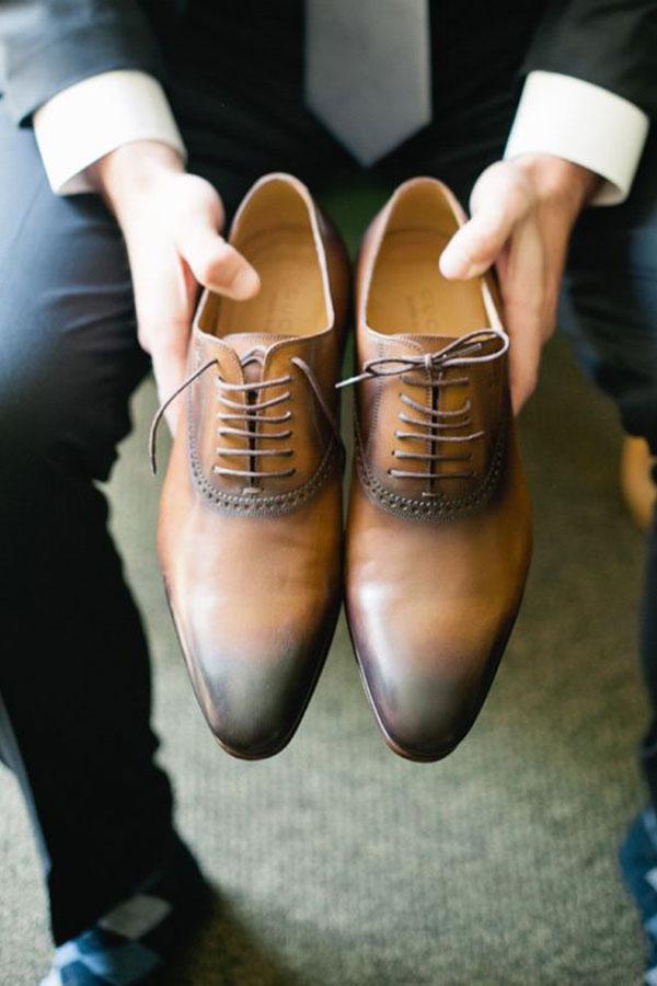Traje do noivo regras atualizadas Sapato terra