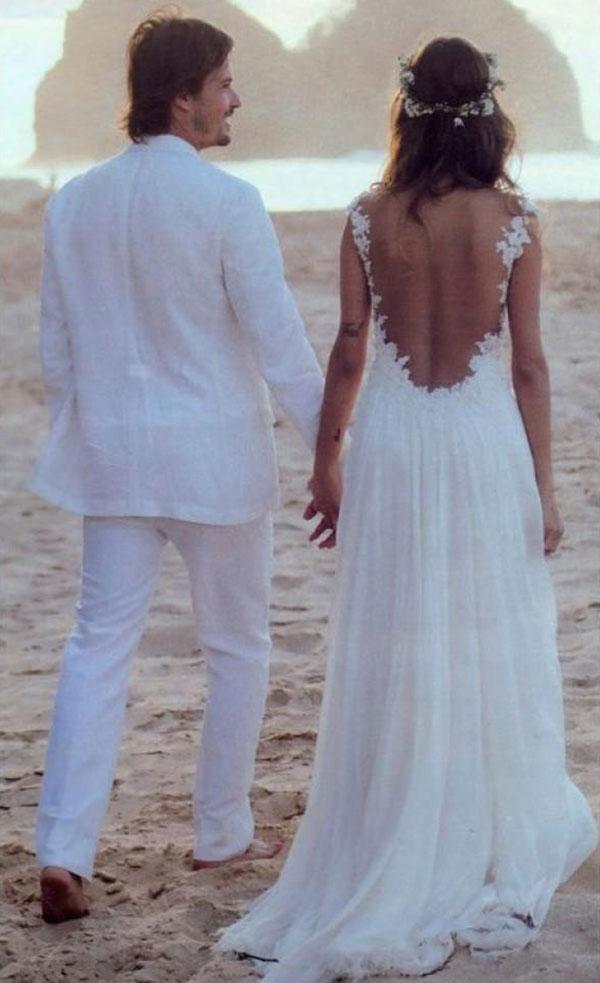 Traje do noivo regras atualizadas descalço