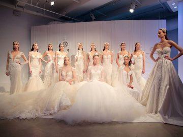Vestido de noiva 10 tendências do NY Bridal Week Outono 2017