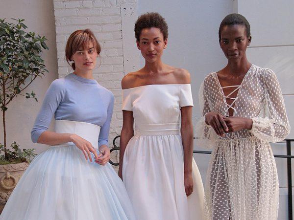 Vestido de noiva Todas as tendências do NY Bridal Week Outono 2017