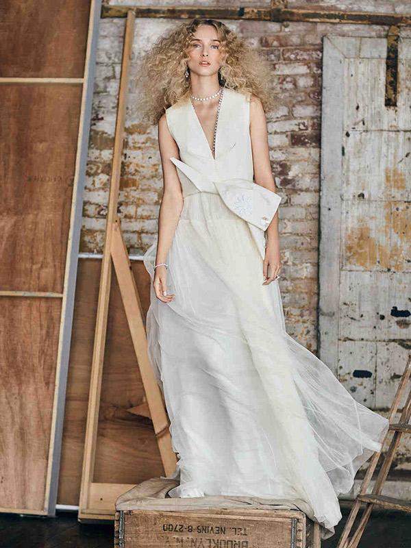 Vestido de noiva coleção capsula delphine delpozo