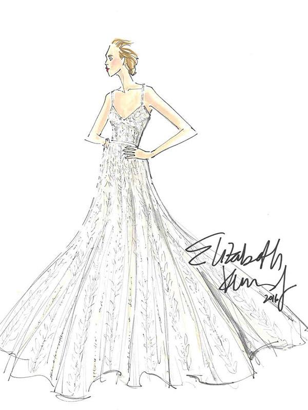 Vestido de noiva coleção capsula delphine elizabeth kennedy