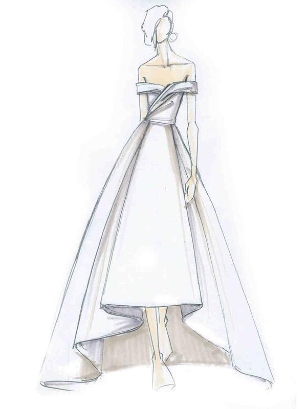 Vestido de noiva coleção capsula capsula j mendel