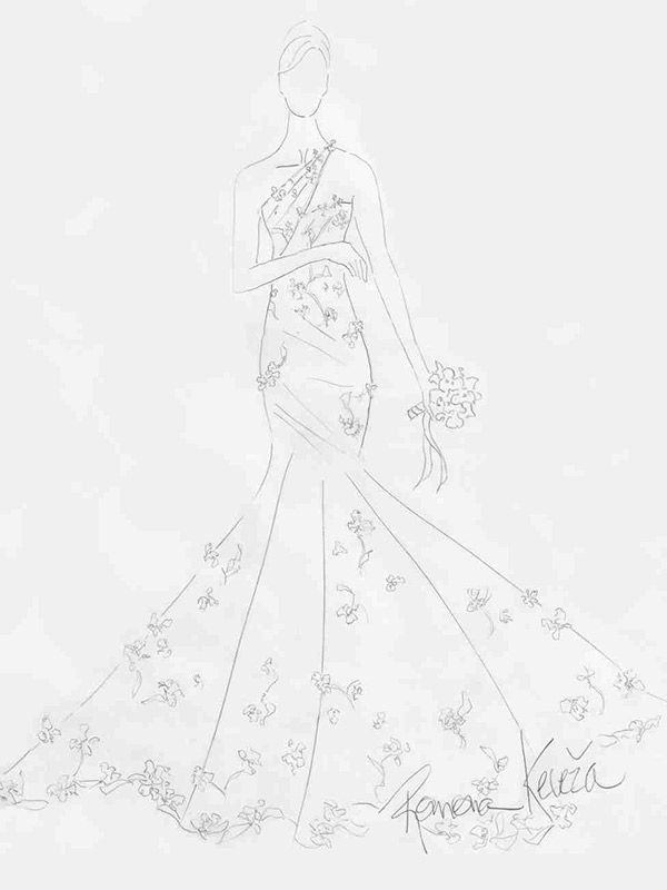 Vestido de noiva coleção capsula capsula romona keveza
