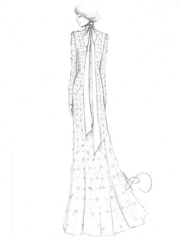 Vestido de noiva coleção capsula capsula temperley london