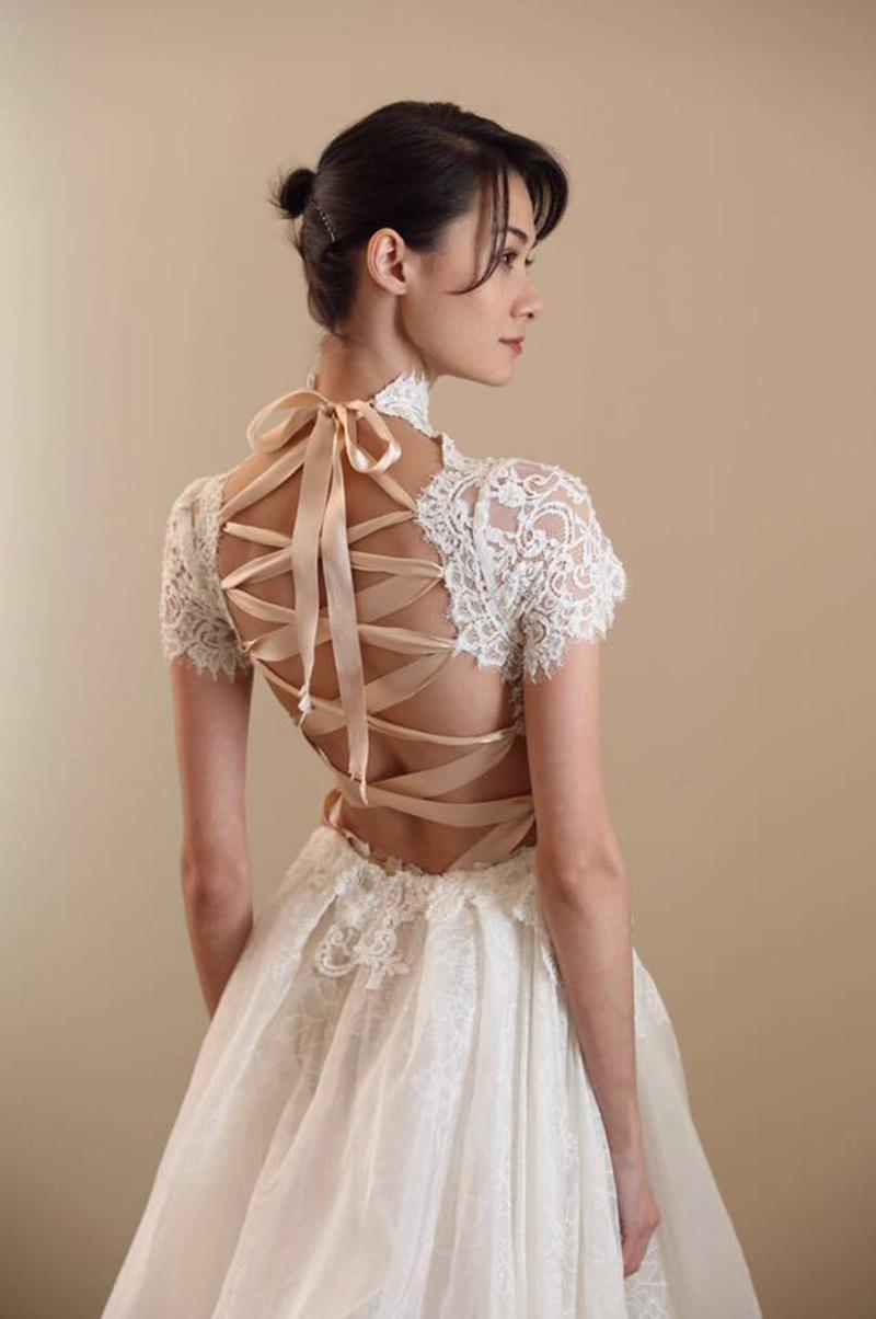 Vestido de noiva tendências do NY Bridal Week Outono 2017