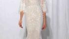 Vestido de noiva tendências do NY Bridal Week Outono 2017 mangas