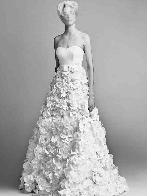 Vestido de noiva viktor&rolf outono 2017