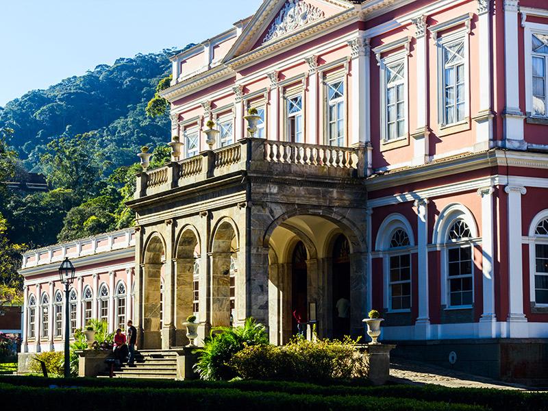 Lua de mel Castelos e palácios Brasil