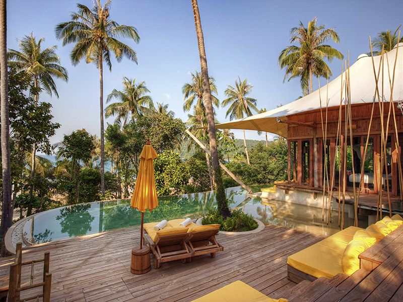 Lua de mel Destinos luxuosos Tailândia