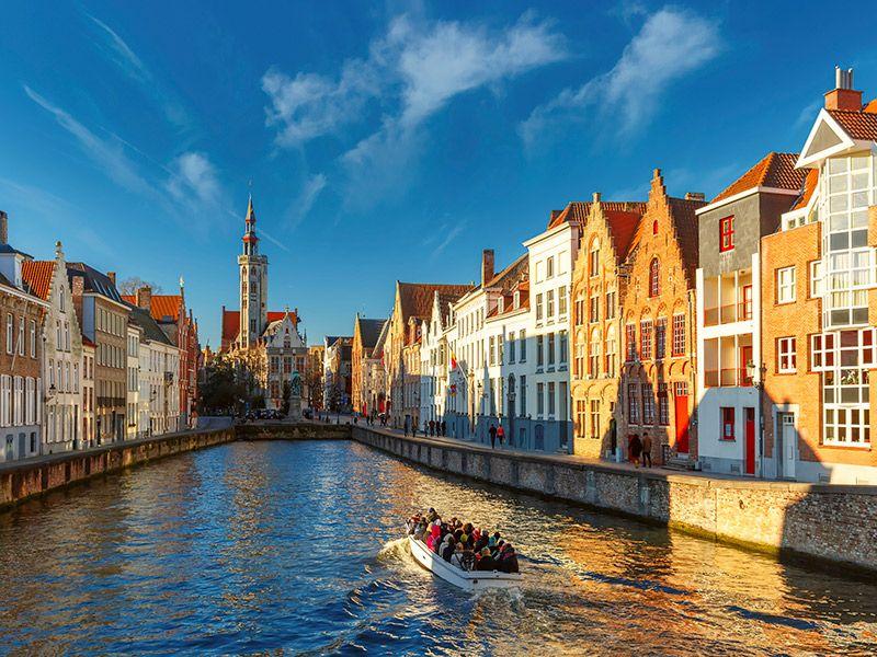 Lua de mel nas quatro estações Bruges