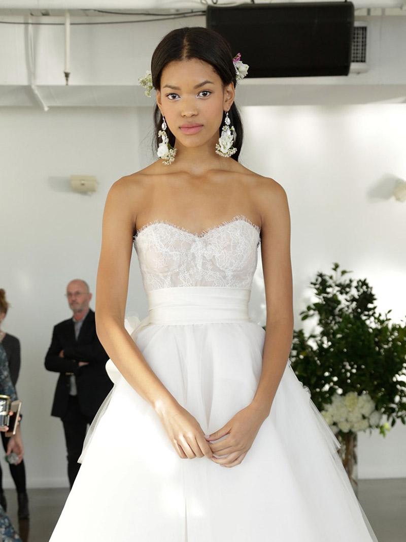 Maquiagem de casamento melhores do NY Bridal Week Marchesa