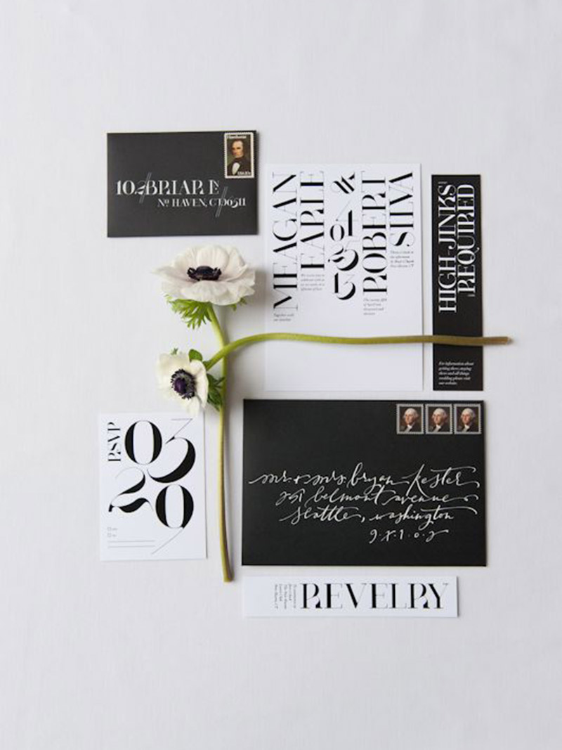 Papelaria de casamento Save the date data