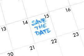 Papelaria de casamento Save the date